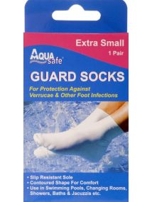 Aqua Extra Small Guard Socks