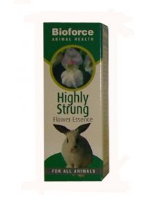 Bioforce Animal Health - Highly Strung Flower Essence 30ml