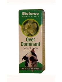 Bioforce Animal Health - Over Dominant Flower Essence 30ml