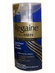 Regaine For Men Extra Strength Scalp Foam 1 Month's Supply.