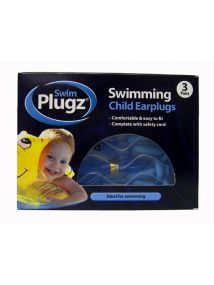 Swim Plugz Child Earplugs