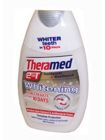 Theramed 2in1 Toothpaste & Mouthwash Whitening 75ml
