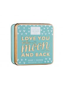 The Scottish Fine Soaps Company Love You To The Moon And Back Soap In A Tin 100g