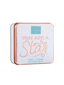 The Scottish Fine Soaps Company You Are A Star Soap In A Tin 100g
