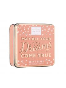 The Scottish Fine Soaps Company May All Your Dreams Come True Soap In A Tin 100g