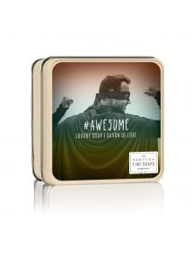 The Scottish Fine Soaps Company AWESOME Soap In A Tin 100g