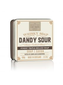 The Scottish Fine Soaps Whisky Soap DANDY SOUR  Soap in a TIN 100G