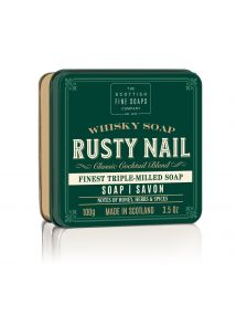 The Scottish Fine Soaps Whisky Soap RUSTY NAIL  Soap in a TIN 100G