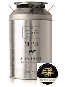 The Scottish Fine Soaps Company Au Lait Milk Bath Powder 500g