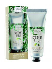 The Scottish Fine Soaps Company Coconut & Lime Hand & Nail Cream 75ml
