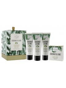The Scottish Fine Soaps Company Coconut & Lime Luxurious Gift Set