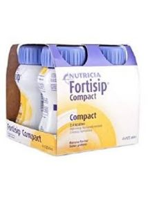Fortisip Compact Feeding Supplement vanilla 125ml 4 Pack
