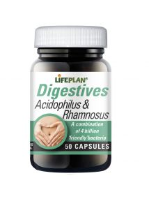 Lifeplan Acidophilus and Rhamnosus 50 Capsules