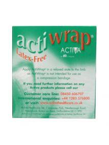 Acti-wrap bandage latex free 6cm x 4m