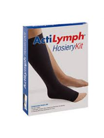 Actilymph hosiery kit large size black colour 32846
