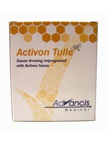 Activon tulle Gauze dressing with Activon honey 10cm x 10cm