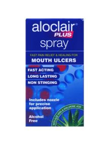 Aloclair Plus Spray Alcohol Free Fast Acting 15ml