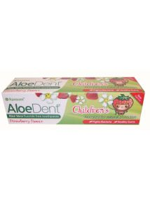 AloeDent Childrens Aloe Vera Fluoride Free Toothpaste 50ml