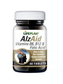 Lifeplan AlzAid B Complex 60 Tablets