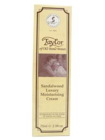 Taylor of Old Bond Street SANDALWOOD Luxury Moisturising Cream 75ml