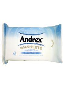 Andrex Washlets Flushable Toilet Tissue  Wipes Refill 42