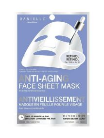 Danielle ANTI- AGING Face Sheet  Mask with RETINOL