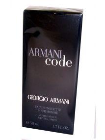 Giorgio Armani Armani Code for Men Eau de Toilette Spray 50ml