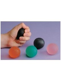 therapy ball orange firm strength x 1