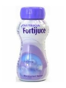 Fortijuce Bottle blackurrant 200ml