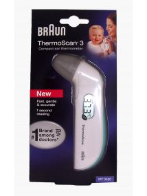Braun Thermoscan 3 Ear Thermometer.