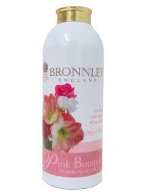 Bronnley Pink Bouquet Talc 100g