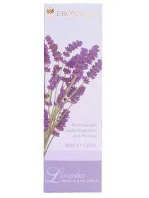 Bronnley Lavender Hand & Nail Cream Tube 100ml