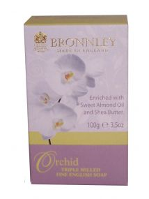 Bronnley Orchid Soap 100g