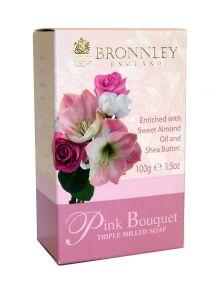 Bronnley Pink Bouquet Soap 100g