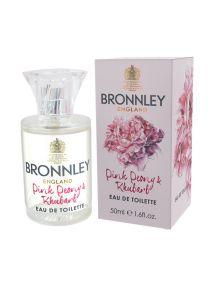 Bronnley Pink Peony & Rhubarb Eau de Toilette Spray 50ml