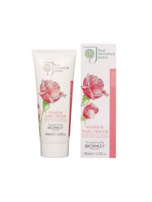 Bronnley RHS Rose Hand & Nail Cream Tube 100ml