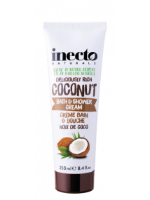 Inecto Naturals Deliciously Rich Coconut Bath & Shower Cream  250ml