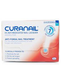 Curanail 5% Nail Lacquer Amorolfine Treatment 3ml