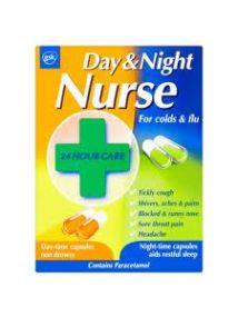 Day And Night Nurse 24 Capsules