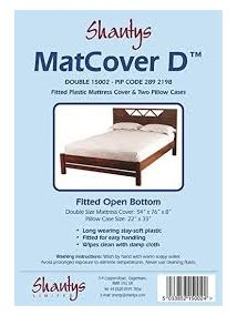 Matcover D Mattress Cover DOUBLE with pillowcases