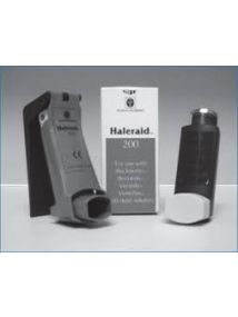 Haleraid 200 device,for use with 200dose inhalers,for arthritic hands etc