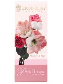 Bronnley Pink Bouquet Eau de Toilette Spray 50ml