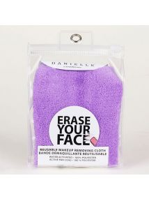 Danielle Erase Your Face Cloth Purple