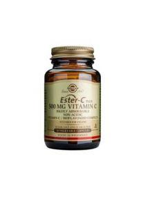 Solgar Ester-C Plus 500 mg Vitamin C 50 Tablets