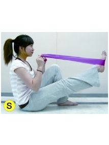 Exercise band thin PINK 0.35mm