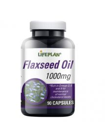 Lifeplan Flaxseed Oil 1000mg 90 Capsules