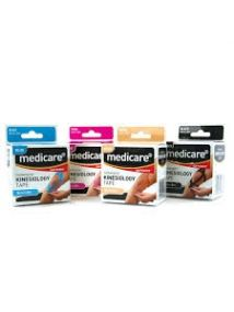 Medicare kinesiology tape BEIGE 5cm x 5metres