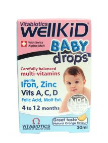 WellKid Baby Drops Multi-Vitamin 30ml