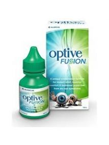 Optive Fusion eye drops 10ml sodium hyaluronate