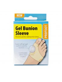 ProFoot Gel Bunion Sleeve - Prevents Painful Rubbing from Shoes
